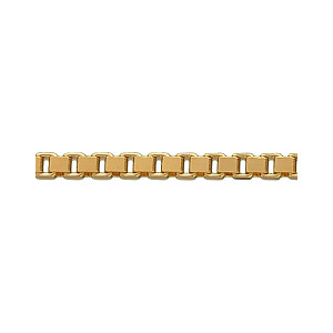 Venezia halskæde 50 cm *1,2 mm i double  2512050