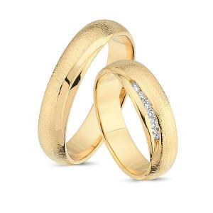 Forlovelses- eller vielsesringe i 14kt. DES20