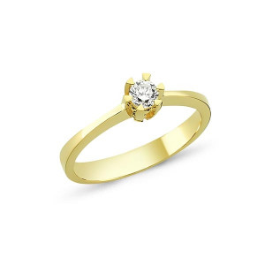 Star Brillant Ring 0.03ct.